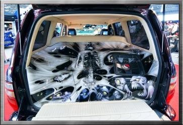 Wild custom interior