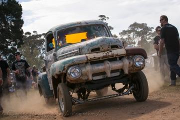 Wild gasser pickup at Chopped 2013