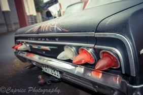 Cadillac taillights in a Chevy Impala