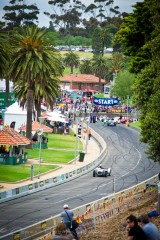 The Geelong Revival race track