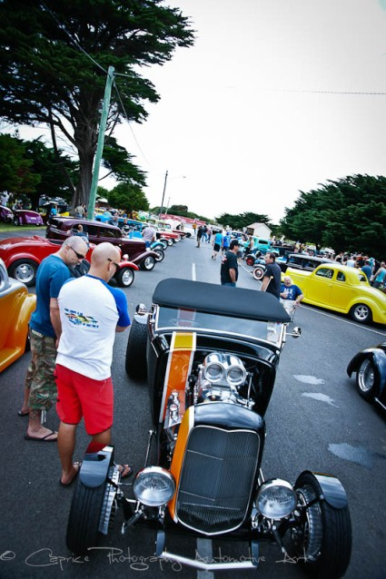 Rods galore at Queenscliff