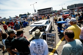 This Detroit icon always attracts a crowd due to its past as a record breaking 1967 Plymouth GTX known as Silver Bullet.