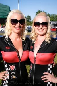 blond twins, blond promotions girls, sexy girls