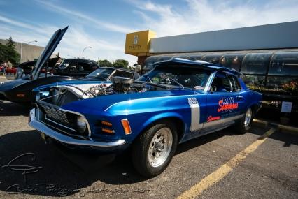 1970 Boss 302 Mustang, ¼ mile race