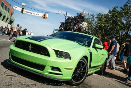 2013 Ford Mustang Boss 302, green