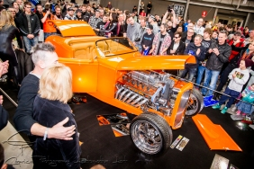 Peter and Debbie Miller, 1932 Ford Roadster, C-DEUCE, motorex