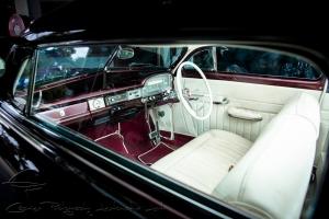 1950 mercury interior, white interior