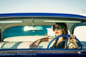 girls in cars, 1956 buick, blue buicks, custom buicks