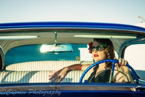girls in cars, 1956 buick, blue buicks, custom buicks