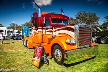 custom peterbuilt, custom paint on trucks,