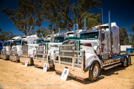 mahonys transport, castlemaine truck show