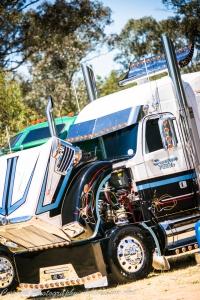 custom freightliner, castlemaine truck show, freightliner