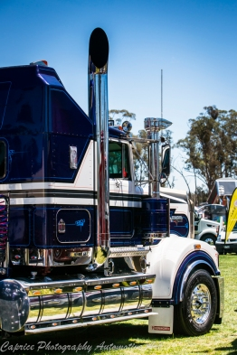 t950 kenworth, 6 inch stacks