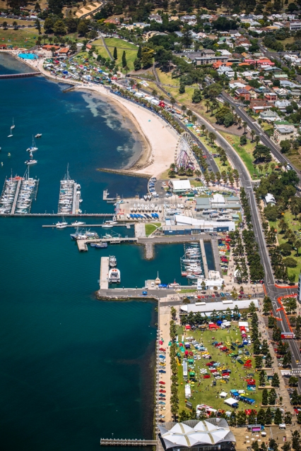 geelong waterfront, geelong speed trials, geelong revival motoring festival