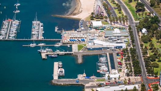 geelong waterfront, geelong speed trials, geelong revival motoring festival