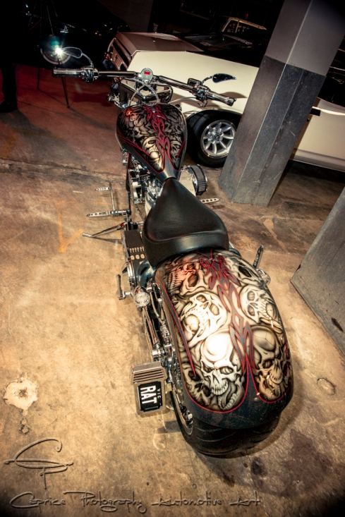 custom harleys, airbrush bikes