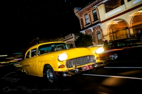 yellow cars, 1955 chevy
