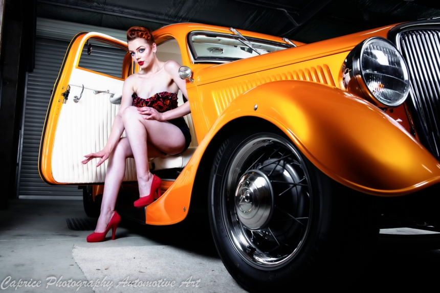 hot rods and models