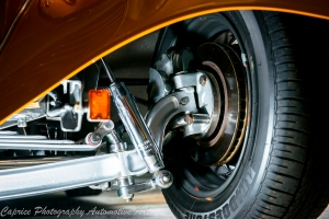 Highly detailed suspension