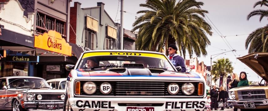Acland street car show
