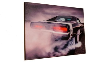 Canvas print Dodge charger