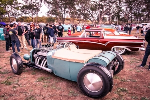 Focusing on traditionally styled hot rods and customs along with classic bobbers and choppers