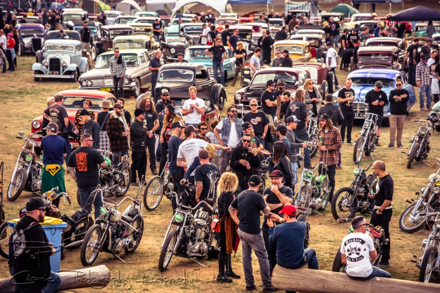 The inspiration for The Boogaloo Invitational came from car shows like The Lonestar Round Up Rod & Kustom festival