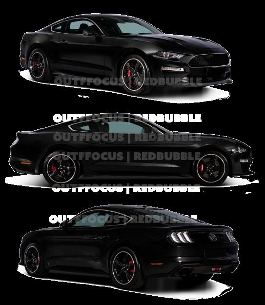 Bullitt Mustang Black X3