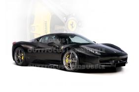 Ferrari 488 black brake comp