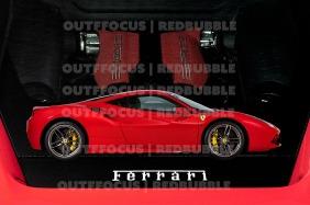 Ferrari 488 engine