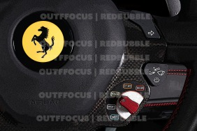 Ferrari 488 steering wheel