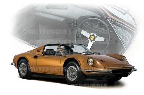 Ferrari Dino interior comp