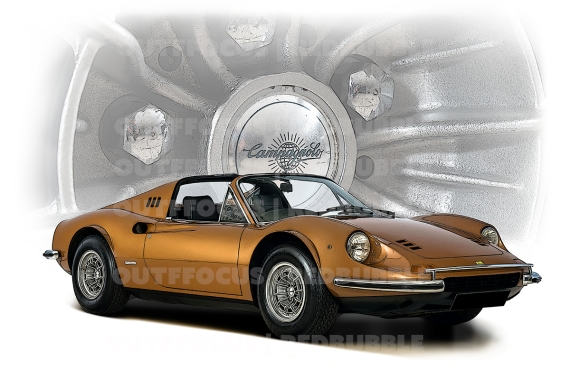 Ferrari Dino wheel comp