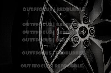 Ferrari Pista Spider wheel
