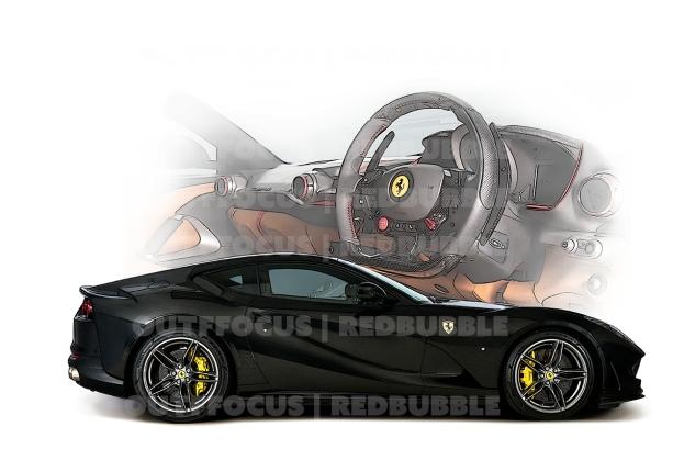 Ferrari812Superfastwith dash
