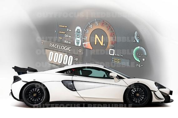 McLaren race dash