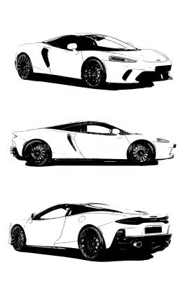 McLaren X3 drawn