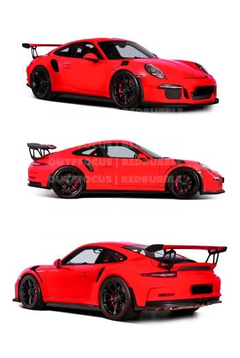 Porsche GT3RS X3